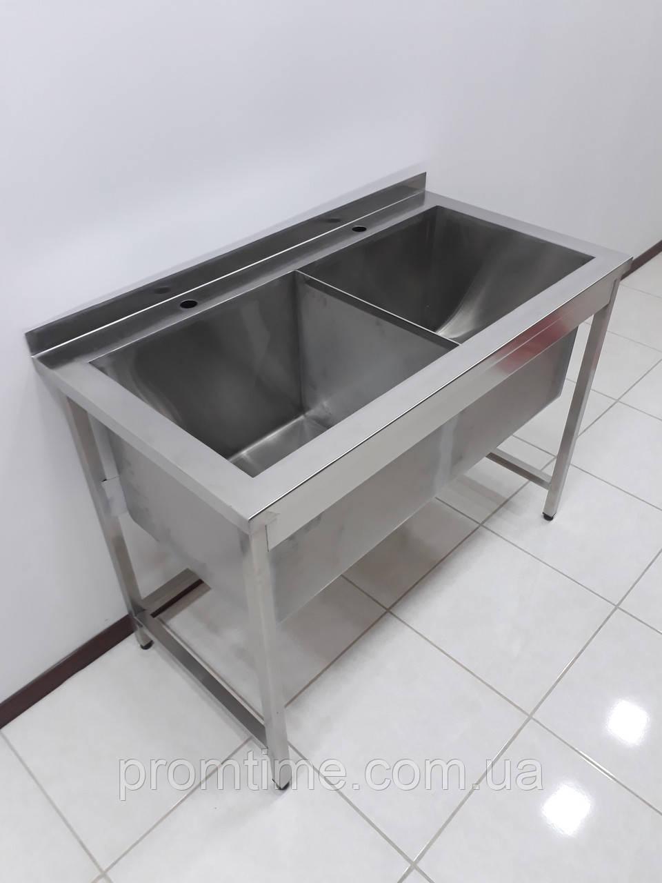 Ванна моечная из нержавеющей стали 1160х500х850