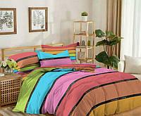 Евро комплект постельного белья 200*220 из сатина