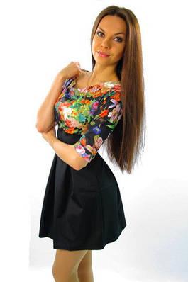 Яркое молодежное платье. Платье Лавика.