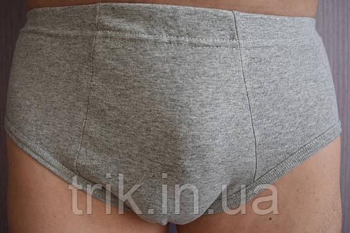 Мужские трусы плавки серые меланж, фото 2
