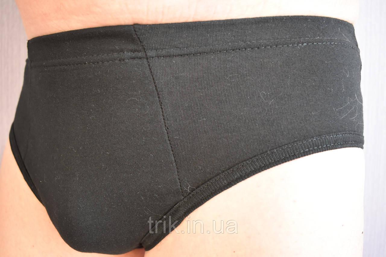 Мужские трусы плавки черные