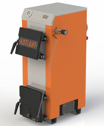 Твердотопливный котел Kotlant Эко КН-24 с терморегулятором