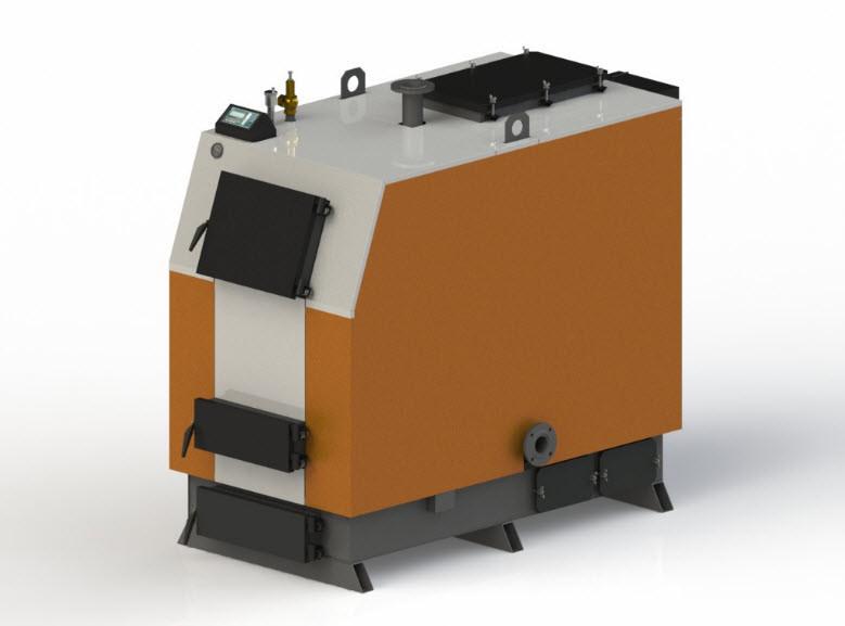 Твердотопливный котел Kotlant КВ-125 с автоматикой zPID