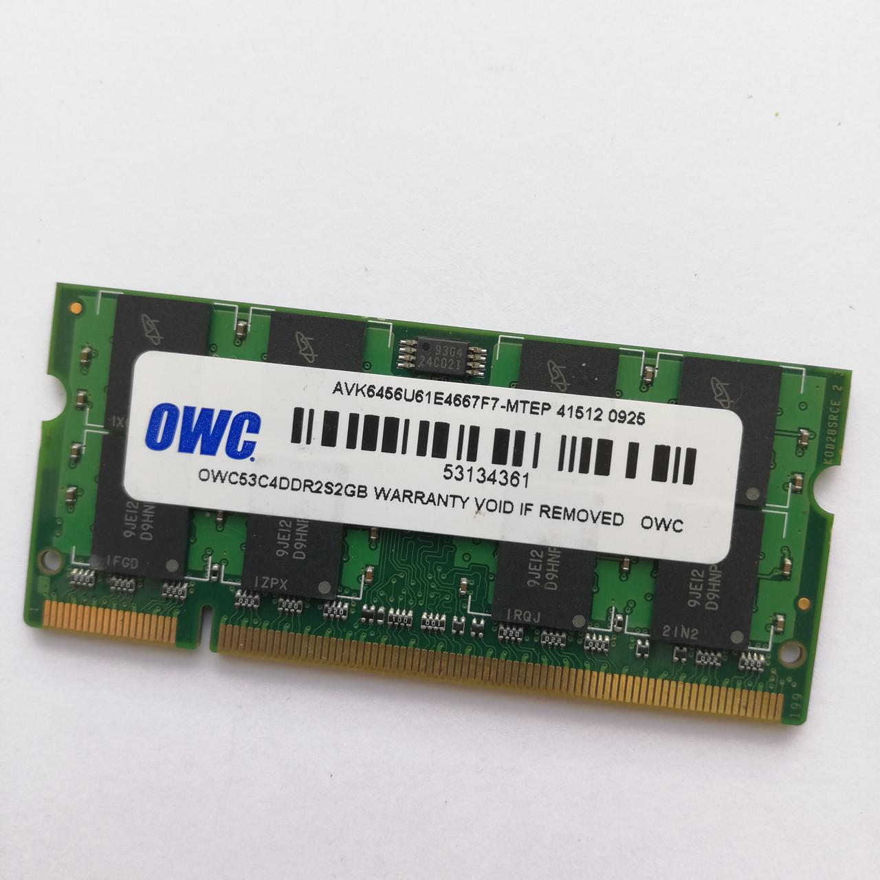 Оперативная память для ноутбука MIX SODIMM DDR2-3 1-4GB 667/1600MHz Б/У Под ремонт и восстановление!