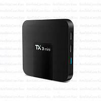 Приставка Смарт ТВ Tanix TX3 Mini 16гб