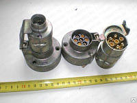 Вилка +  розетка ПС-300 12/24В металл