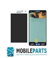 Дисплей для Samsung A500F Galaxy A5 Duos|A500FU |A500H (2015) с сенсором (Белый) TFT подсветка не регулируется