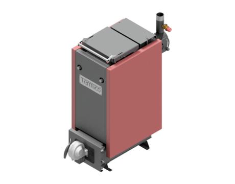 Твердотопливный котел шахтного типа Termico КДГ 8 кВт ( Термико КДГ с механической регулировкой )