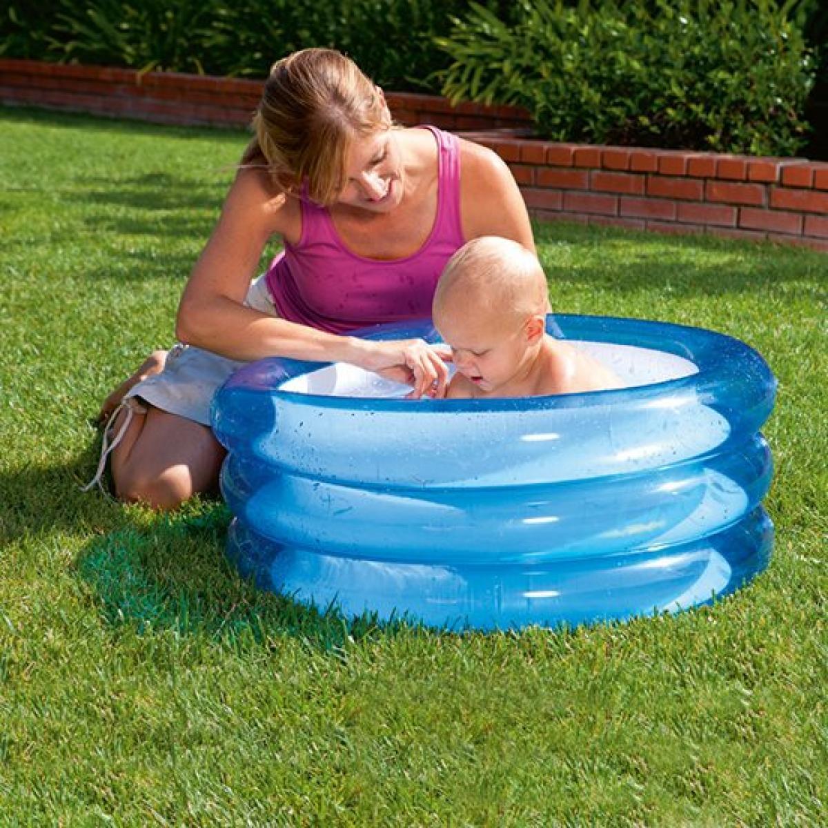 Надувной бассейн Bestway 51033 круглый 43 л 70-30 см