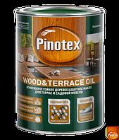 Pinotex Wood&Terrace Oil - Масло для защиты террас и садовой мебели 1л