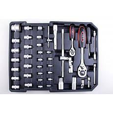 Набір ключів LEX 186CC-2 186шт., фото 3