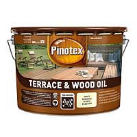 Pinotex Wood&Terrace Oil - Масло для защиты террас и садовой мебели 3л. БЕСПЛАТНАЯ ДОСТАВКА
