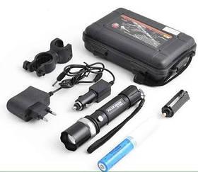 Светодиодный фонарик с креплением X-Balog BL-8628