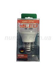 Светодиодная лампа шар LAMP CLASSIC G45 6W E27 3000K