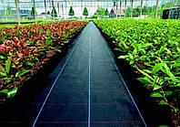 Агроткань п/п 2,07 х100м 100г/м.кв.(БЕЛЬГИЯ), черная (направляющие полосы -зеленые)