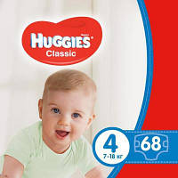 Подгузник Huggies Classic 4 Mega 68 шт (5029053543154)
