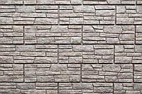 Сайдинг Стоун-Хаус Сланец Светло Серый  (двойной замок), фото 1