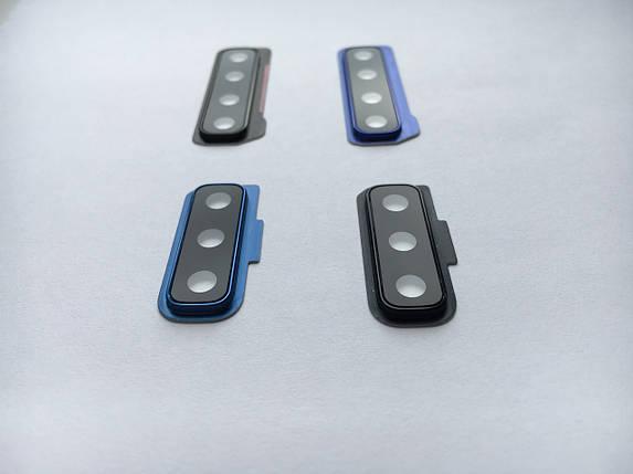 Стекло на камеру Samsung A750 синий, фото 2