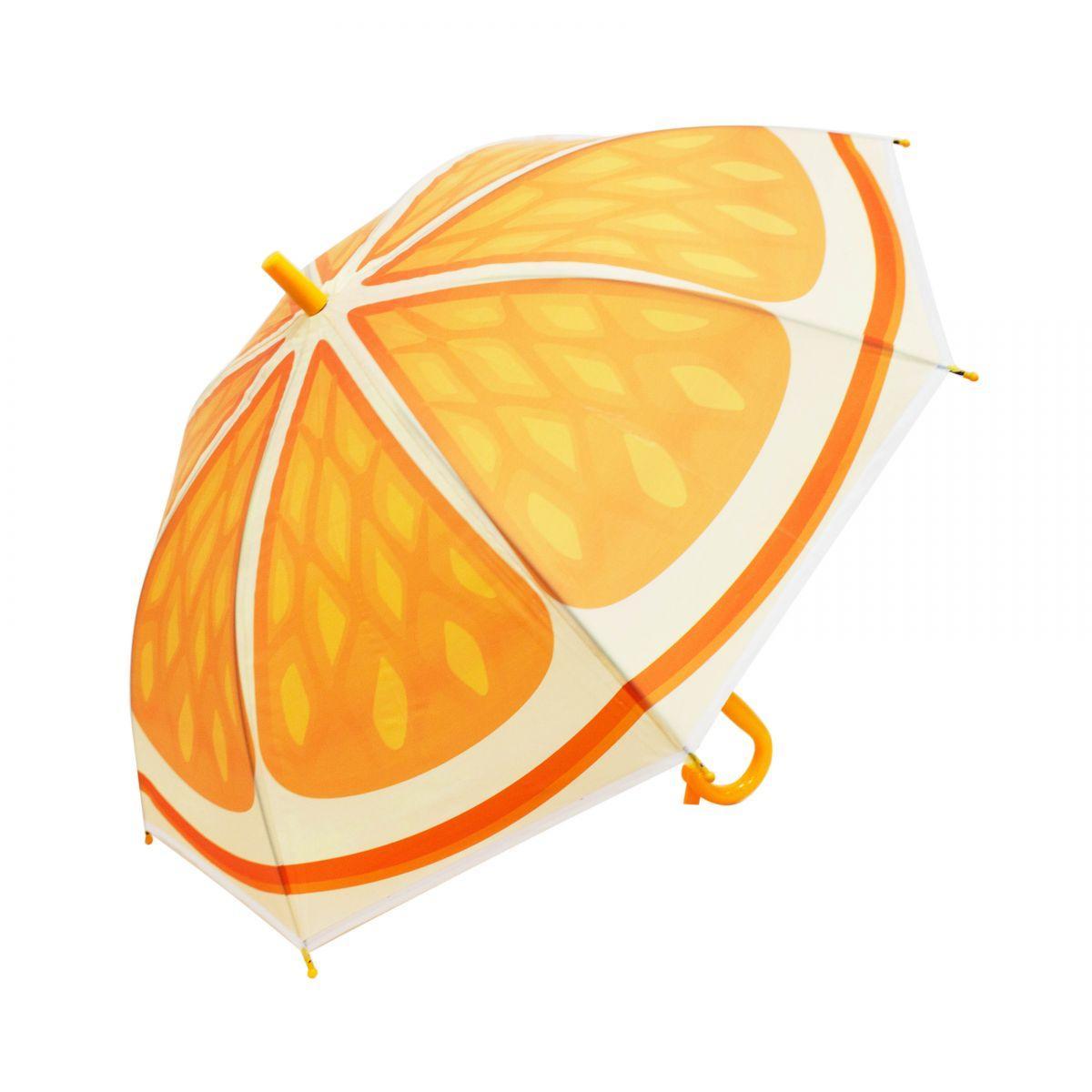 Зонт детский Апельсин со свистком BT-CU-0025