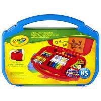 Набор для творчества Crayola в удобном синем чемоданчике (04-2704-1)