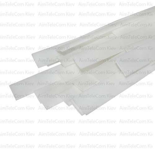 Термоусадка W-1-H WOER, 4.0/2.0мм, белая, 1м (1уп/100м)