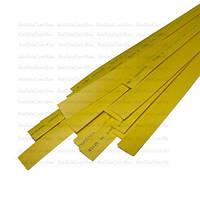 Термоусадка W-1-H WOER, 1.0/0.5мм, жёлтая, 1м (1уп/100м)
