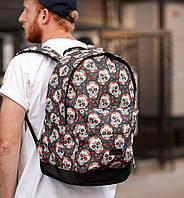 Рюкзак мужской средний с принтом South Skull
