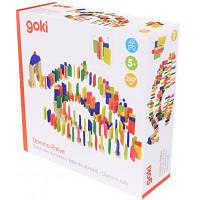 Настольная игра Goki Разноцветное домино (58963)