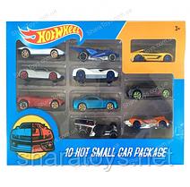 """Набор мини моделей машинок """"Hot Wheel"""" 10 штук"""