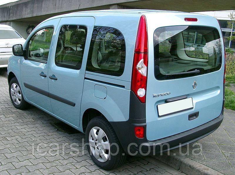 """Скло Renault Kangoo II 08 - тил """"Кришка"""" з електро обігрівачем і отвори"""