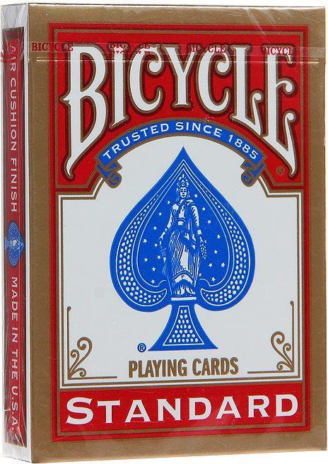 """Карты игральные Bicycle """"Standard"""" Красные"""