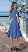 Стильное асимметричное женское платье, фото 3