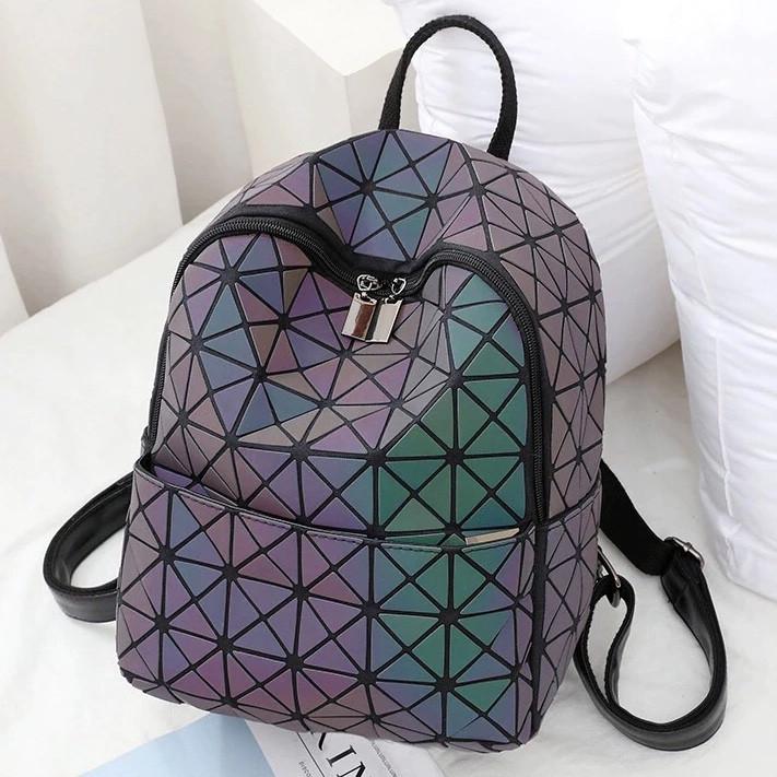Рюкзак Бао Бао школьный, геометрический Bao Bao Issey Miyake Chameleon