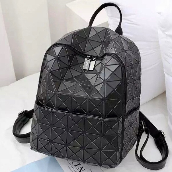Рюкзак Бао Бао школьный, геометрический Bao Bao Issey Miyake Black