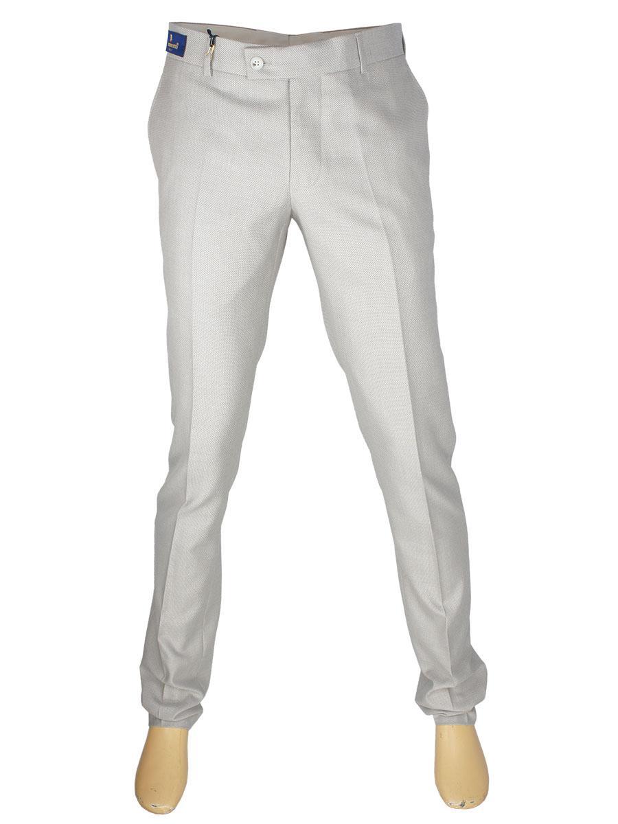 Мужские светлые классические брюки Monzeratti 502 C.06 light beige