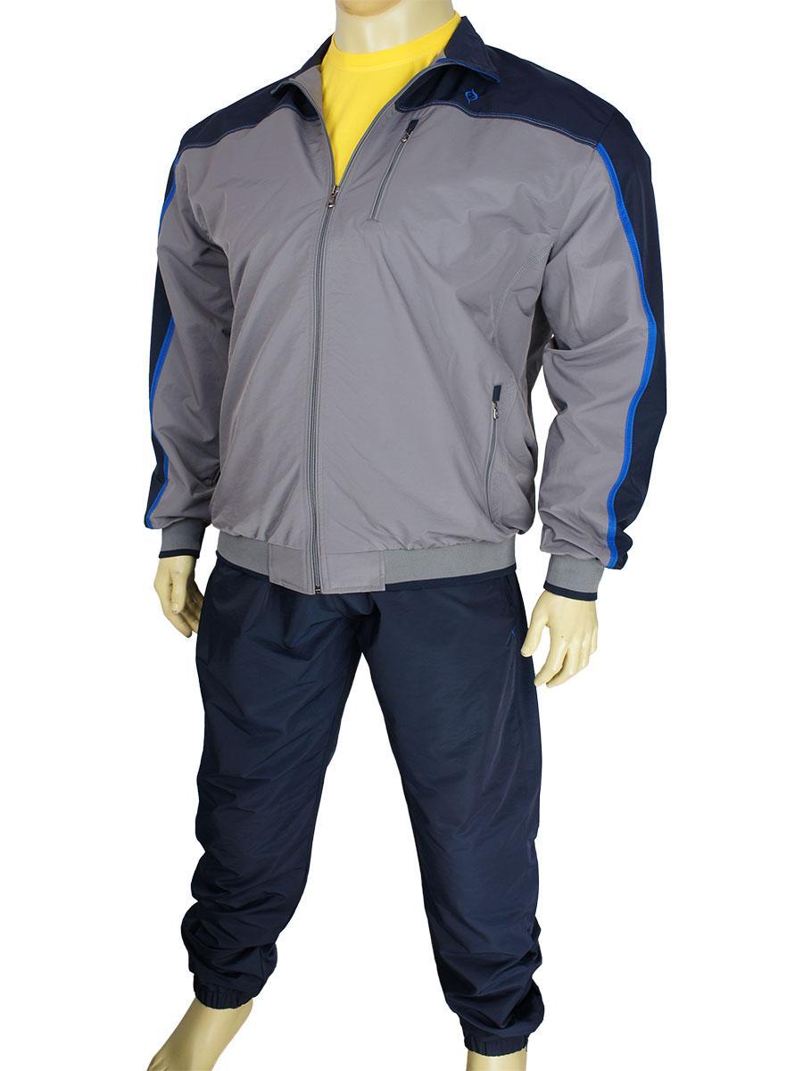 Стильний чоловічий спортивний костюм Fabiani 590306 B Gri/D. Blue