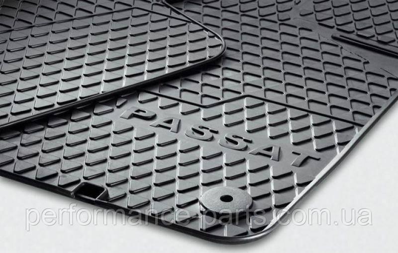 Резиновые коврики 4 шт. для Passat B6, Passat B7 3C1061500A82V
