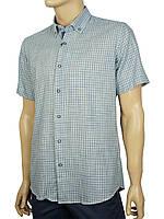 Мужская стильная рубашка Negredo 9046#88 slim gri