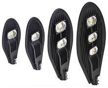 Вуличні консольні світильники на стовб