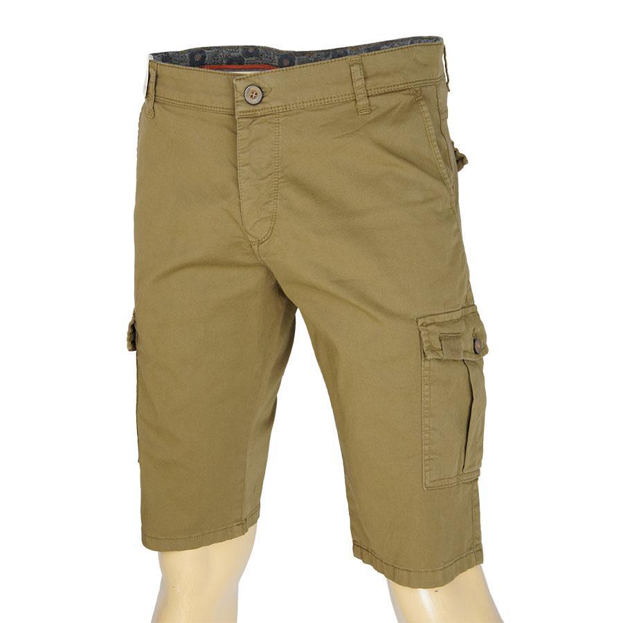 Хлопковые мужские шорты X-Foot 4061 Hardal