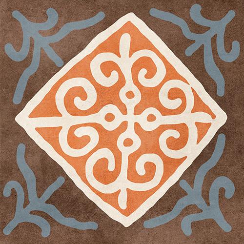Африка мікс Декор д/п 186*186  1с 010