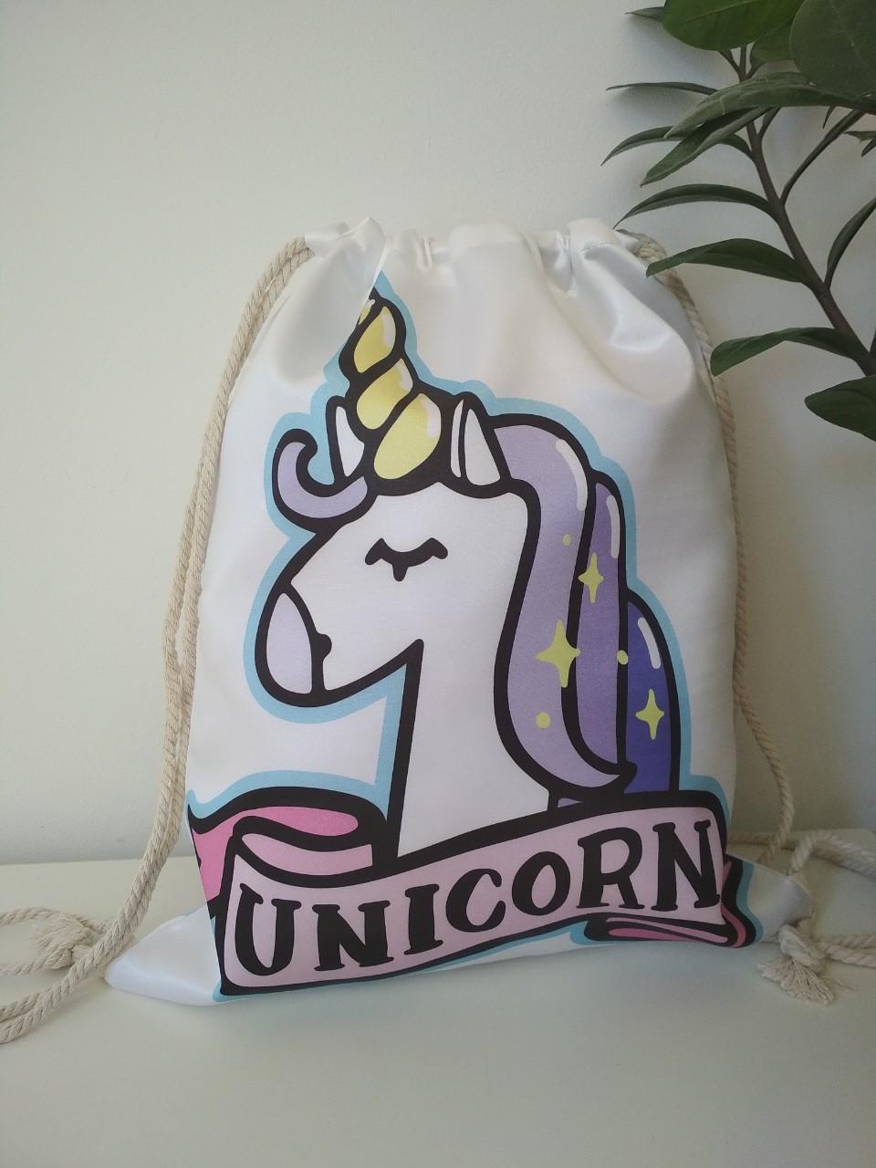 Сумка-мешок для спортивной формы Unicorn для девочки 42*33 см
