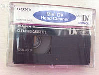 Чистящая видеокассета Sony mini Dv head cleaner кассета dvmcl