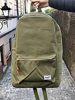 """Рюкзак Herschel Settlement 15"""" Laptop Backpack """"Оливковый"""""""