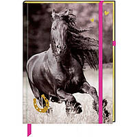 """Блокнот на резинке Spiegelburg """"Я люблю лошадей"""""""