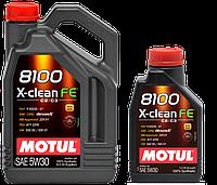 MOTUL 8100 X-clean FE 5W-30 5л