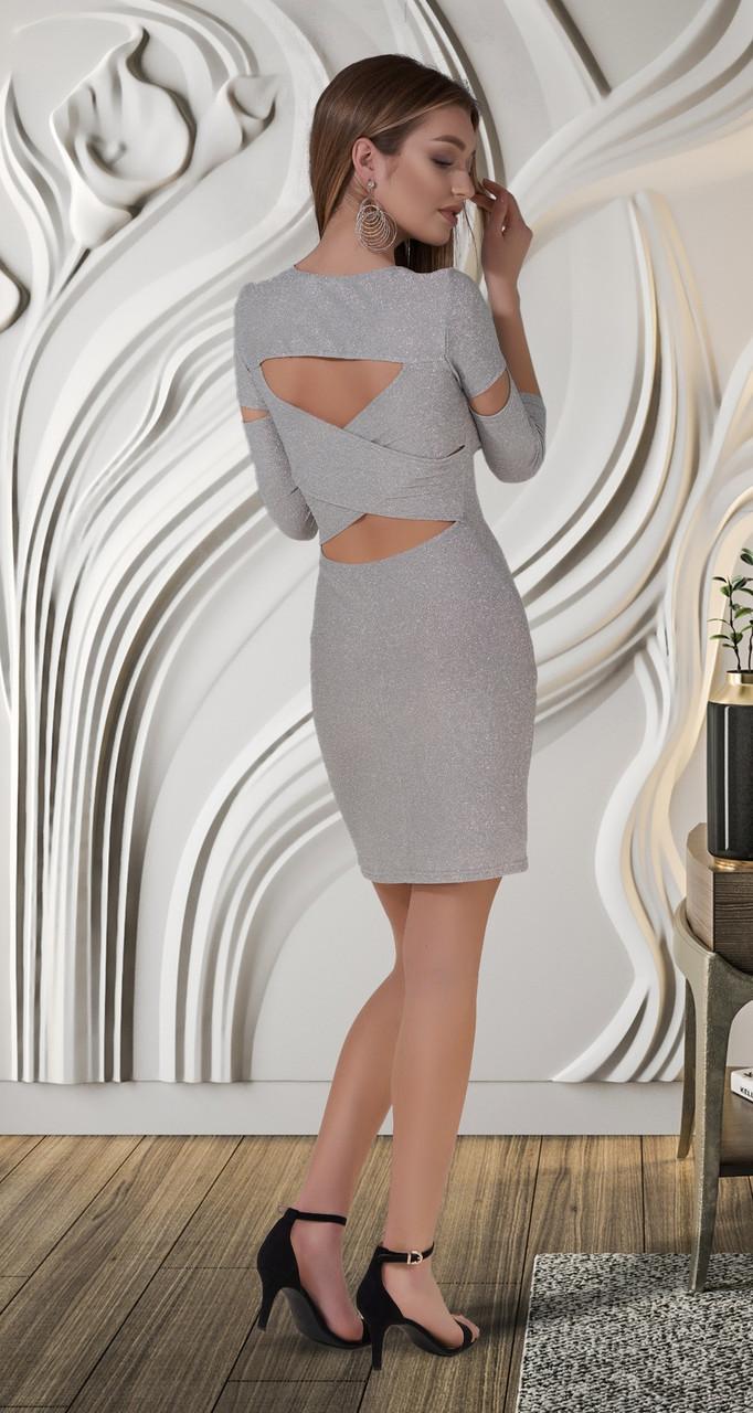 Молодежное женское клубное платье