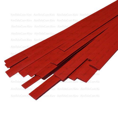 Термоусадка W-1-H WOER, 9.0/4.5 мм, червона, 1м (1уп/50м)