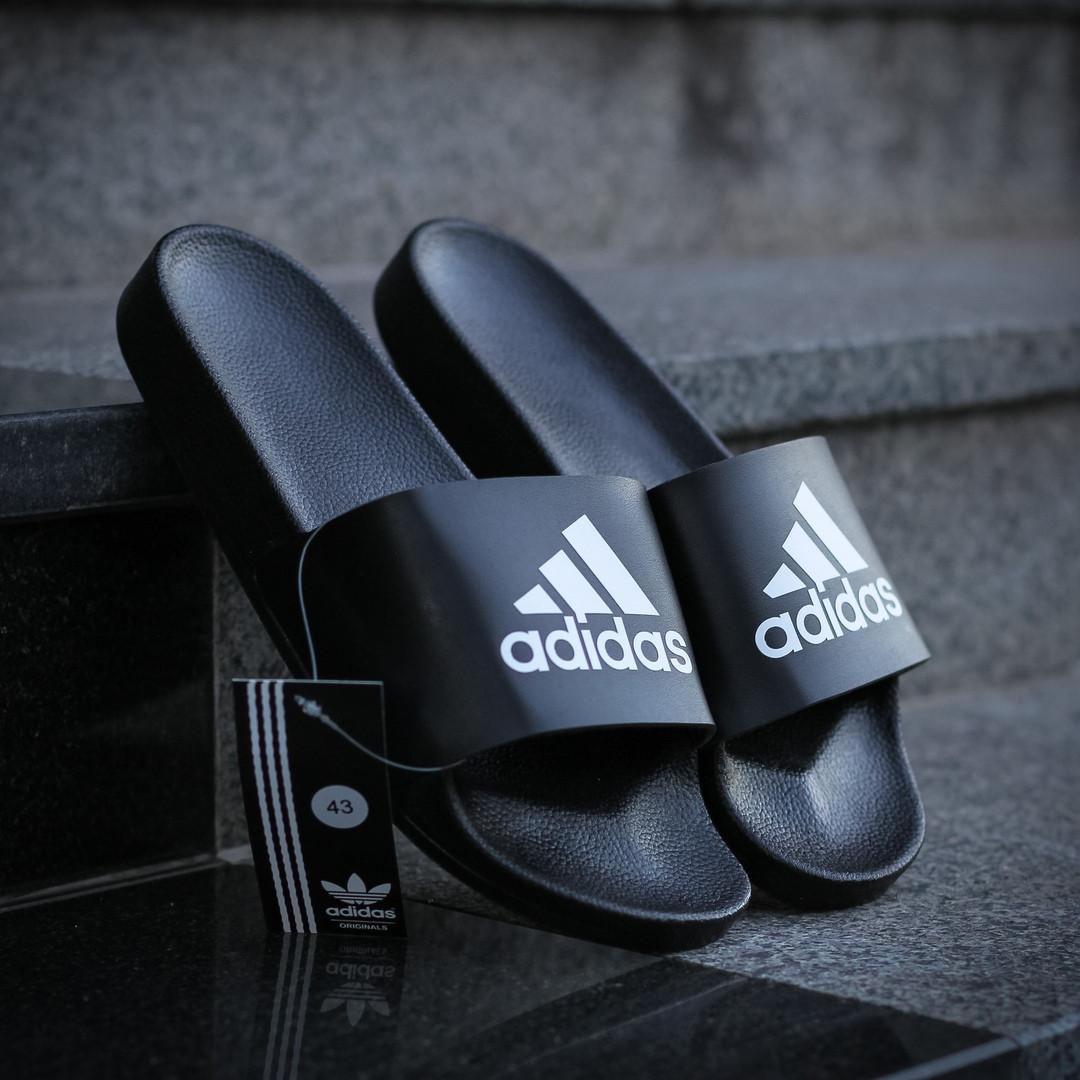 """Сланці Adidas """"Чорні"""""""