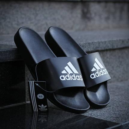 """Сланці Adidas """"Чорні"""", фото 2"""